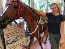 Horse historian Spruce Meadows