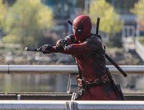 Crews block off the Georgia Viaduct to film a scene for the movie Deadpool staring Ryan Reynolds, Vancouver, B.C. on Tuesday April 7, 2015. (Carmine Marinelli/QMI Agency)