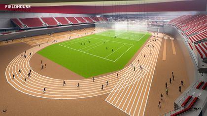 CalgaryNEXT proposed fieldhouse