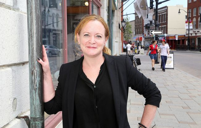 Donna Gillespie, CEO of the Kingston Economic Development Corporation.