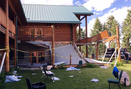 montana lodge collapse