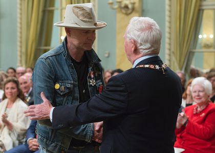 Downie Order of Canada