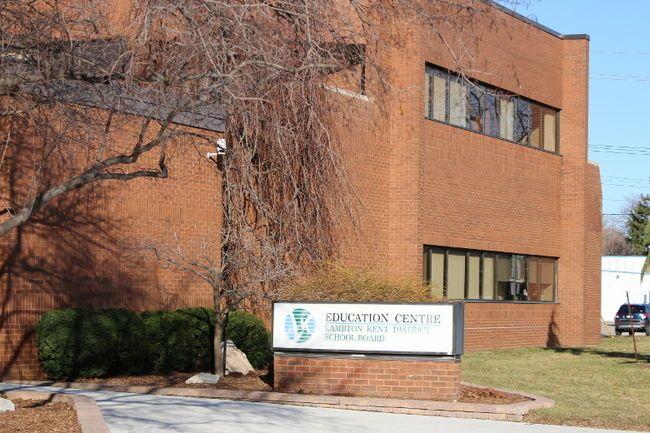 Lambton Kent District School Board office in Sarnia, ON.