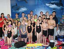 Fairview Olympians at their annual Invitational Swim Meet