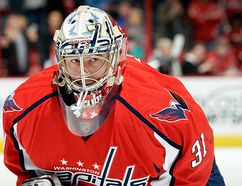 Former Belleville Bulls goalie Philipp Grubauer of the Washington Capitals. (NHL.com)