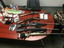 Police seized drugs