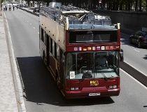 Paris tour bus