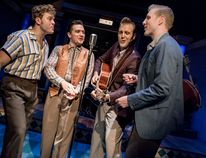 Calvin Laveck, Jesse MacMillan, Michael Vanhevel, Joshua Wiles. Photo by Stephen Wild