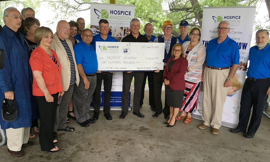 Palliative care centre receives $100,000 boost