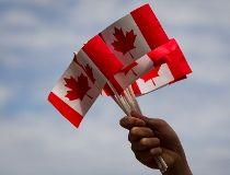 Canadian flags FILES June 26/17