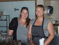 Amanda Kellington, left, and Jennifer Chenard, right, opened Two Sisters Magik Pantry to provide healthy alternatives in Pincher Creek.| Andrew Glen McCutcheon photo/Pincher Creek Echo