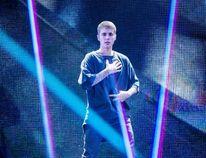 Justin Bieber performs on stage in Telia Parken Stadium in Copenhagen on October 2, 2016. (JENS ASTRUP/AFP/Getty Images)