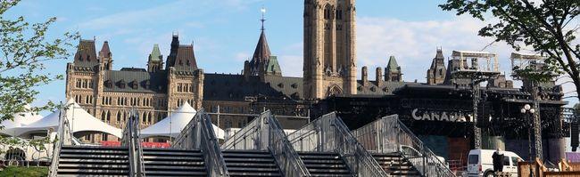 Parliament Hill Canada Day Ottawa