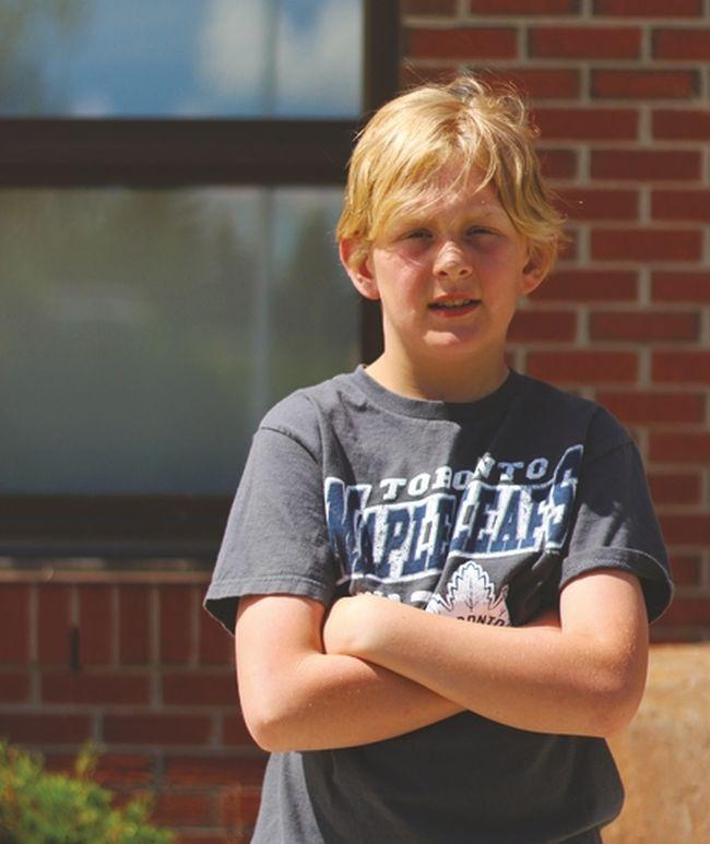 Nanton Boy Raises Nearly $4,000 For Cancer Society ...