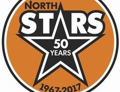 The Owen Sound senior B North Stars logo.