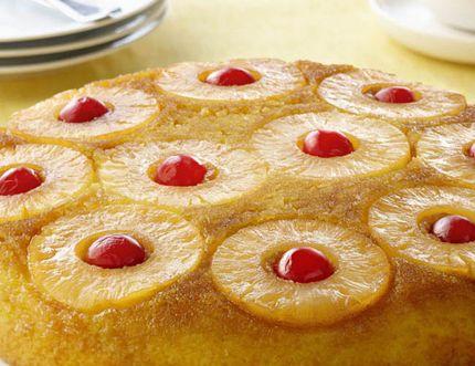 Easy Upside Down Cake. (Handout)