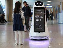self-driving robot