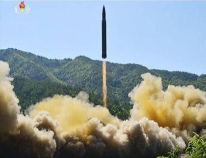 North Korea missile July 4/17