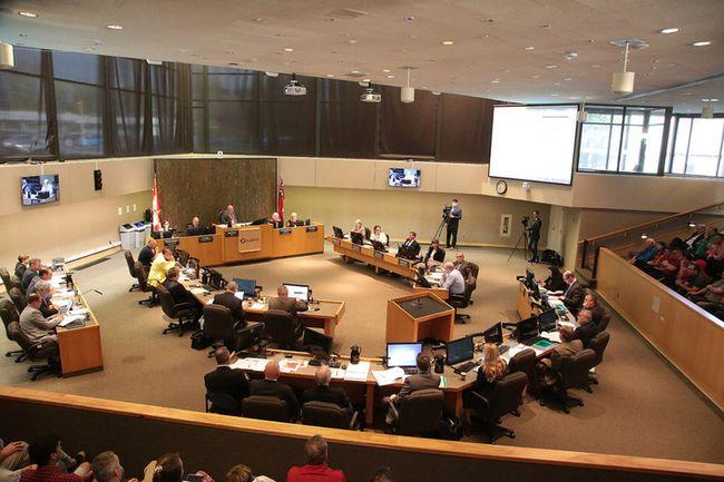 City council. (Gino Donato/Sudbury Star)