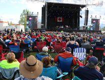 Stars & Thunder audience in Hollinger Park Sunday on Sunday, June 25, 2017.