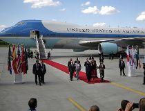 Trump G20 Arrival