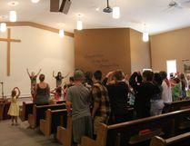 The Nanton Baptist Church hosted a drama camp July 3-6.