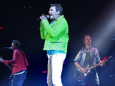 Lead singer Simon Le Bon of Duran Duran in concert at Rogers Place in Edmonton, July 10, 2017. Ed Kaiser/Postmedia