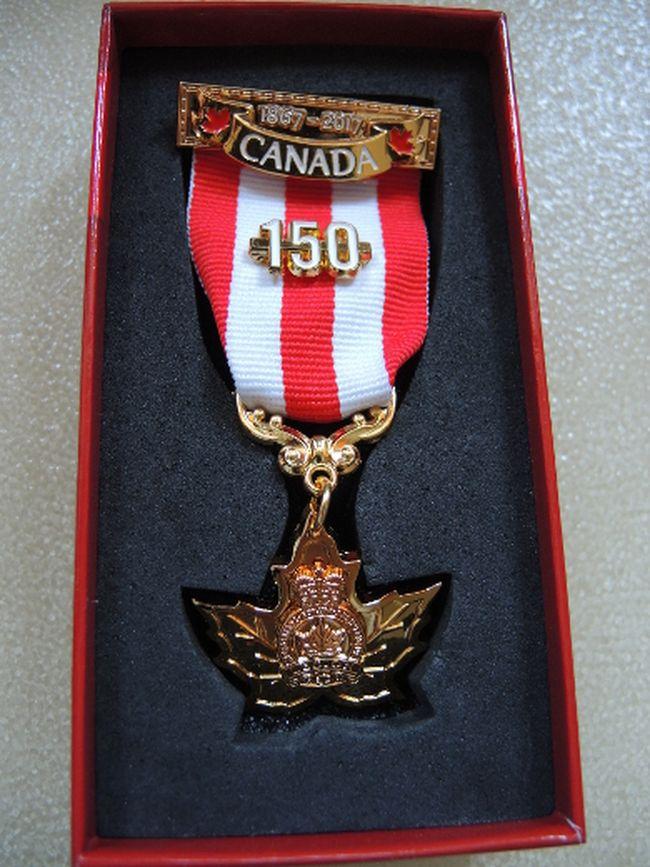 Canada 150 Commemorative Medal