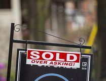 House for sale sign in Toronto. (Ernest Doroszuk/Toronto Sun)