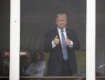 Trump at U.S. Open
