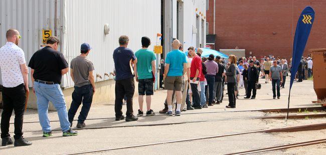 ONTC held a job fair in North Bay on Thursday.