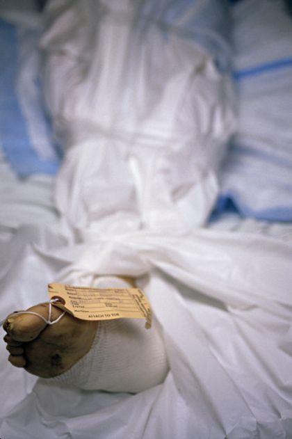 Corpse morgue