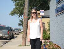 Local resident Jenna Kuchik recounts how her son swallowed a barbecue brush bristle (Peter Shokeir   Whitecourt Star).