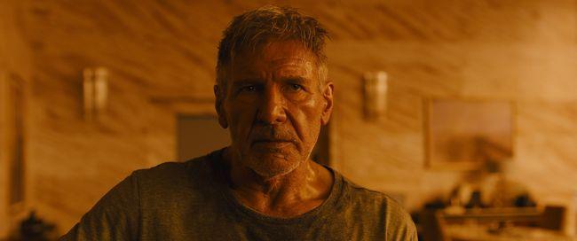 Harrison Ford's Rick Deckard