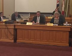 St. Thomas city council chambers (File photo)