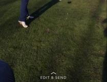 Jarrett Bossert drives the ball down the course during last week's McLennan Ross Junior tour events.