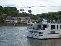 Rhine and Mosel rivers