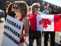 Trudeau Khadr Protest