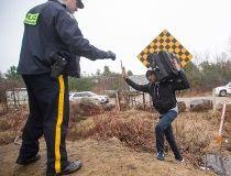 Quebec border