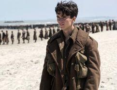 "Fionn Whitehead in a scene from ""Dunkirk."" (Melissa Sue Gordon/Warner Bros. Pictures via AP)"