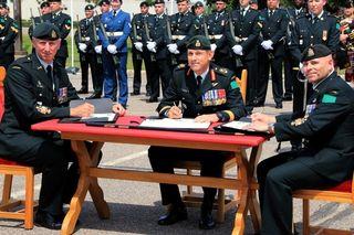New formation sergeant-major for 4CDSG   Pembroke Daily Observer
