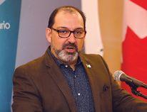 Ontario energy minister Glenn Thibeault. (File photo)