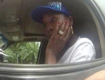 This photo taken from a body camera on June 9, 2017, shows tennis star Venus Williams listening to Palm Beach Gardens Police Officer Davis Dowlings following a car crash in Palm Beach Gardens, Fla. The crash fatally injured an elderly man. (Palm Beach Gardens Police Department via AP)