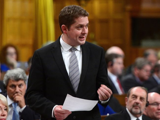 Conservative Party Leader Andrew Scheer