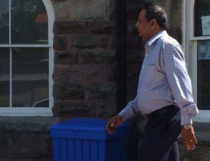Disgraced Woodstock pharmacist Yogesh Patel.