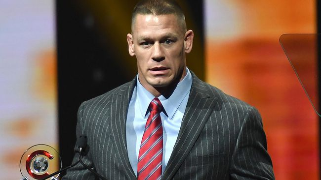 John Cena. (ANGELA WEISS/AFP/Getty Images)