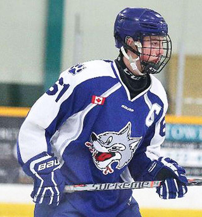 Jake Burton of Sudbury recently signed with the Wellington Dukes. He led the Great North (midget) Hockey League in scoring last season. (Gino Donato/Postmedia Network)