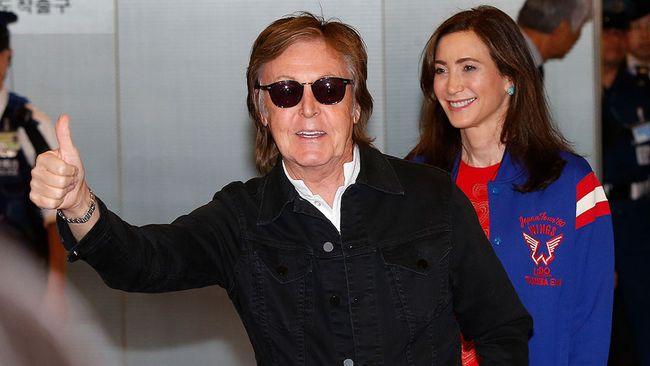 Sir Paul McCartney.  (Ken Ishii/Getty Images)