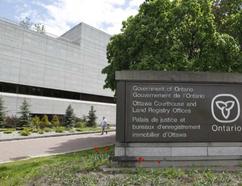 Ottawa Court House. JEAN LEVAC / OTTAWA CITIZEN