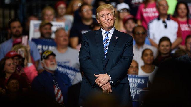 U.S. President Donald Trump. (Justin Merriman/Getty Images)